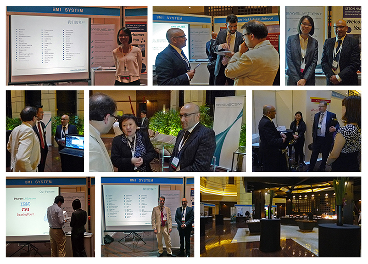 Photos congrès de shanghai BMI SYSTEM