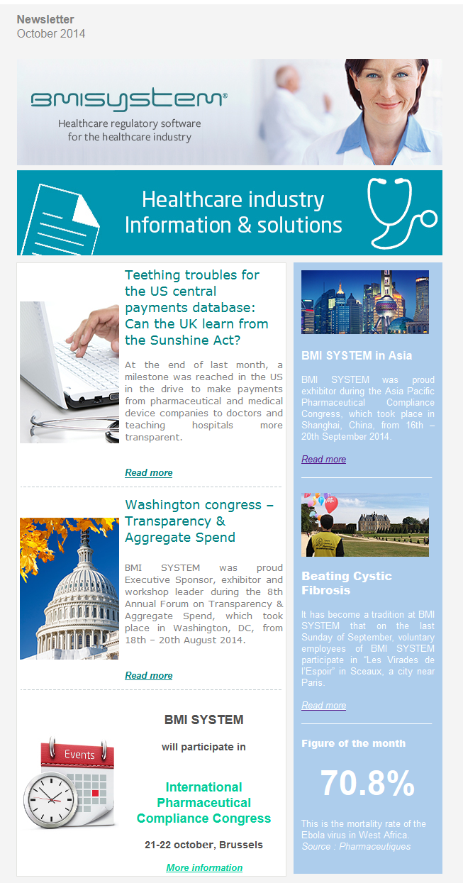 Newsletter UK october 2014