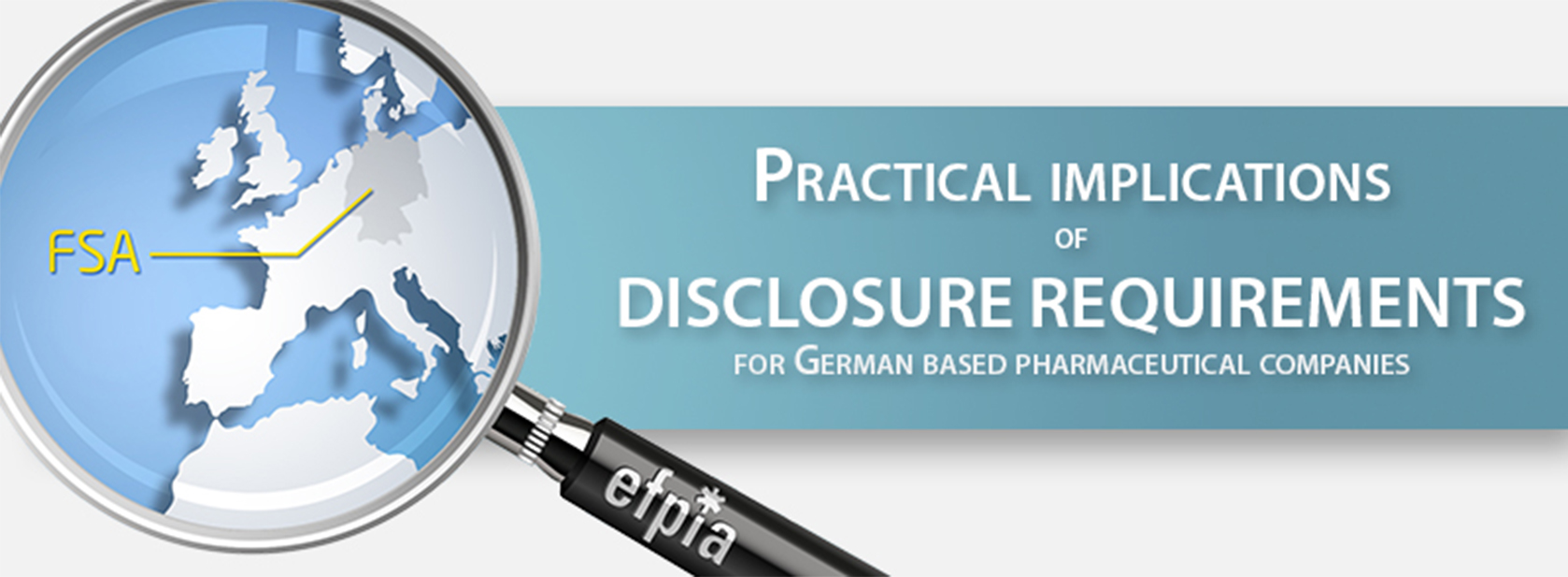 Practical implications of disclosure requirements for German based pharmaceutical companies