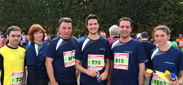 Les coureurs Nicolas Danicourt