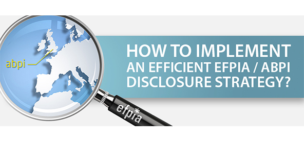 Free Cocktail Seminar : 3 July, 6 PM: How to implement an efficient EFPIA / ABPI disclosure strategy?