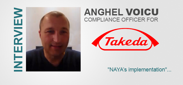 [Video] Anghel Voicu, Compliance Officer for Takeda