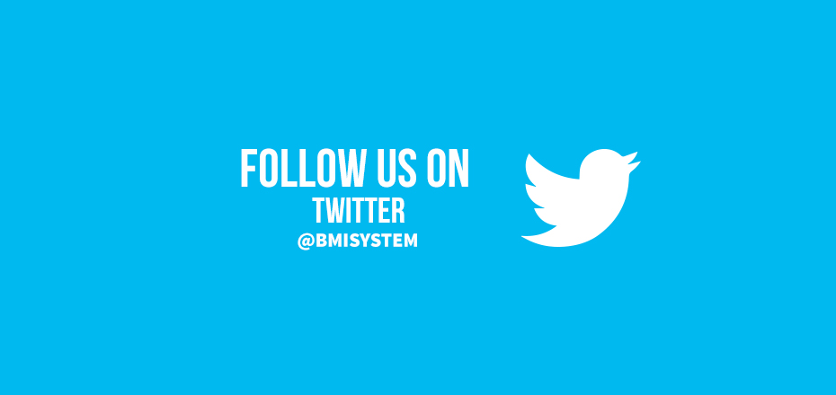 BMI SYSTEM presents its brand new Twitter account!