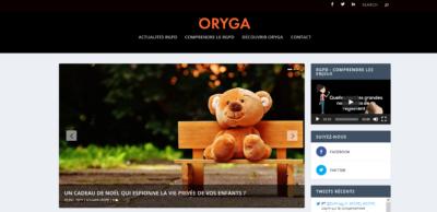 Site ORYGA.com