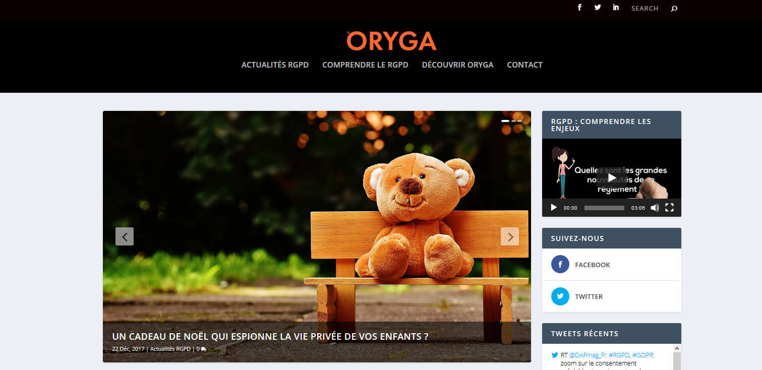 BMI SYSTEM lance son site dédié à la solution ORYGA