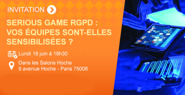 Banner Serious Game RGPD