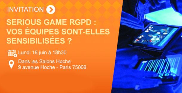 Banner Serious Game RGPD