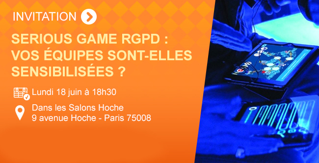 Serious Game RGPD : Vos équipes sont-elles sensibilisées ?