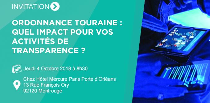 Ordonnance Touraine : quel impact pour vos activités de transparence ?